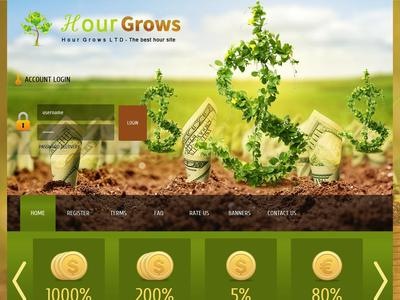 Hourgrows - [PROBLEMS] [DELETE ACCOUNTS] [Parte 2] hourgrows.com - Min 6$ (5% Hourly for 36 Hours) RCB 80% Hourgrows.com